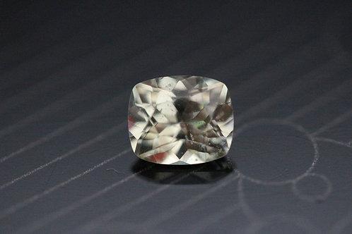 Saphir jaune clair coussin - 1,19 carat - Madagascar