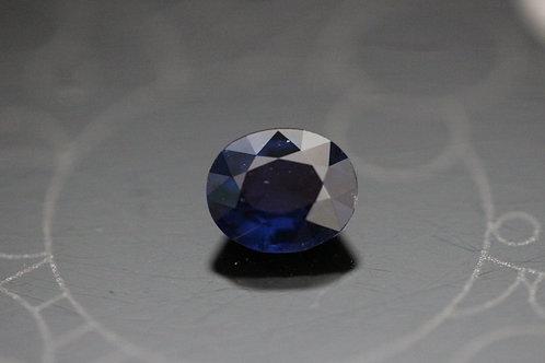 Saphir ovale - 0.91 carat - Madagascar