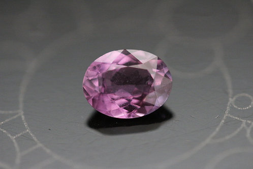 Saphir rose ovale - 1.32 carat - Madagascar