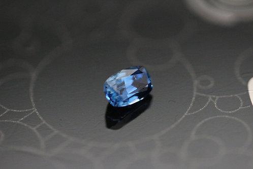Saphir coussin - 0.75 carat - Madagascar