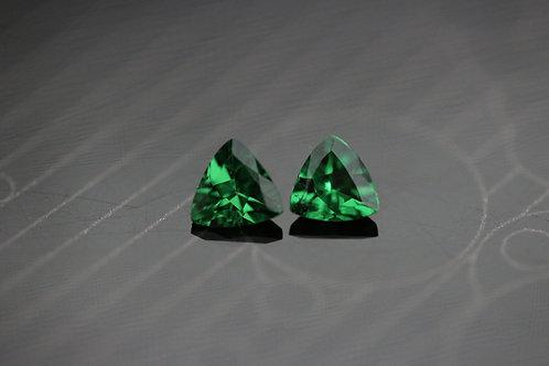 Tsavorite (Paire) - 0,46 carat - Afrique de l'Est