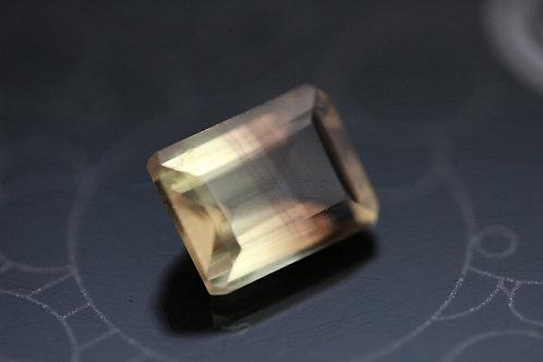 Quartz bicolore - 2,30 carats -