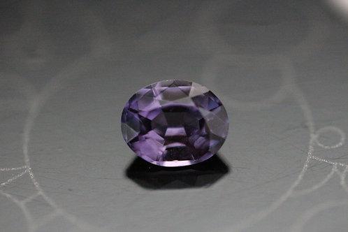 Saphir violet ovale - 1.09 carat - Madagascar