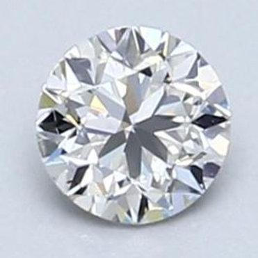 Diamant taille brillant HSI1 certifié GIA - 0,3 carat - CANADA