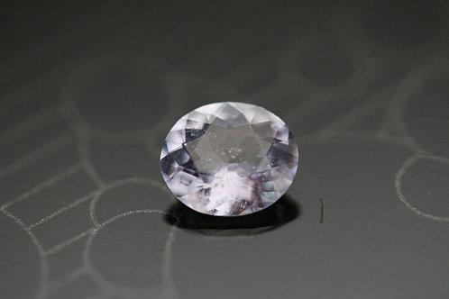 Saphir violet ovale -  0.98 carat - Madagascar