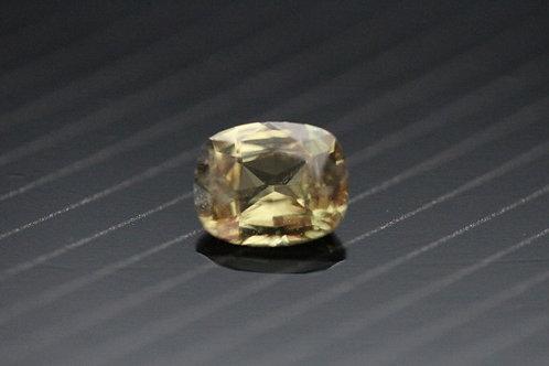 Saphir jaune coussin - 0,94 carat - Madagascar