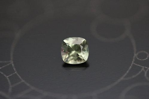 Saphir vert-jaune du Montana - 0.33 carat - Rock Creek, Montana, USA