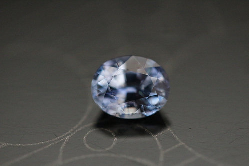 Saphir ovale -  1,24 carat - Madagascar