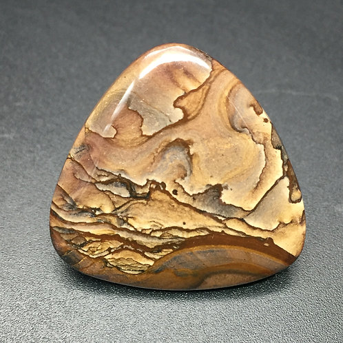 Jaspe paysage - 34.33 carats - Biggs, Oregon - USA