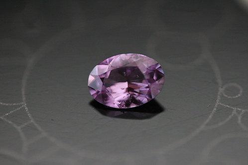 Saphir violet ovale - 0.80 carat - Madagascar