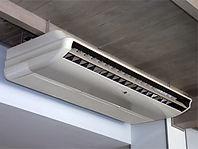 天井吊下げエアコンクリーニング