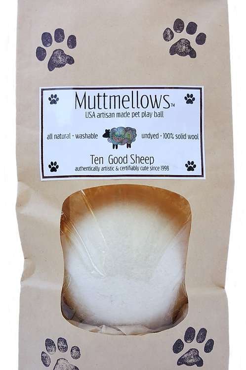 Muttmellows™ all natural & super sturdy pet toys (sets of 12)
