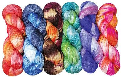 Ten Good Sheep hand dyed luxury fiber ya