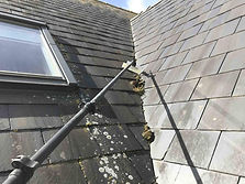 Slate_roof_moss_scraping_softwashing_equ