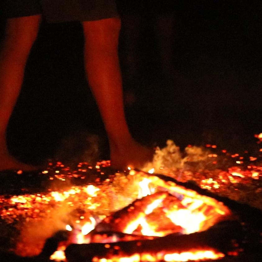 FIREWALKING - prechod po žeravých uhlíkoch