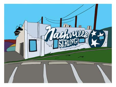 Nashville Strong Mural