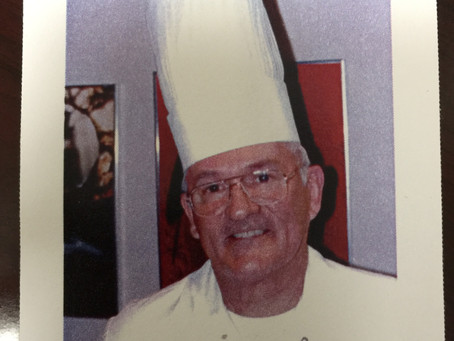 My Dad was a French Gourmet Chef