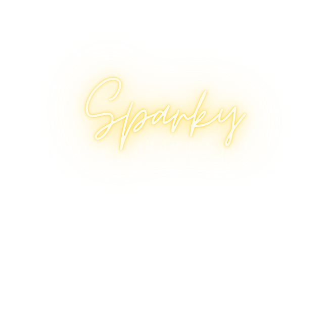sparky content logo (yellow on transpare