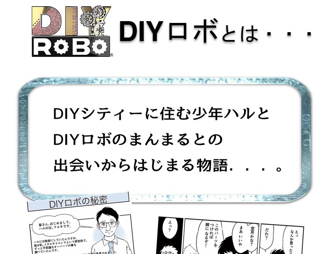 DIYロボはどんなもの?