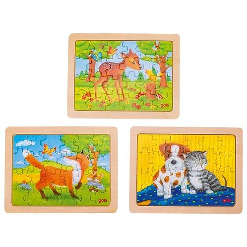 24 piece Animal Puzzles