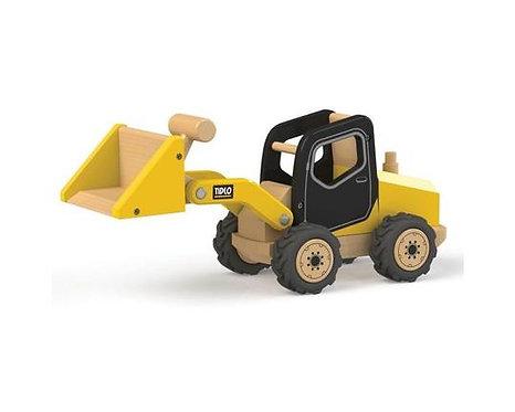Front End Loader Wooden Construction Vehicle