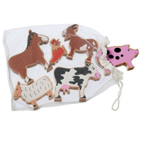 Farm Animals - Bag of 6