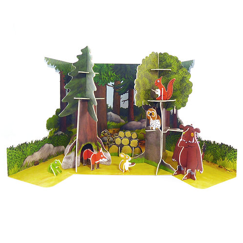 The Gruffalo Pop-out 3D Building Playset