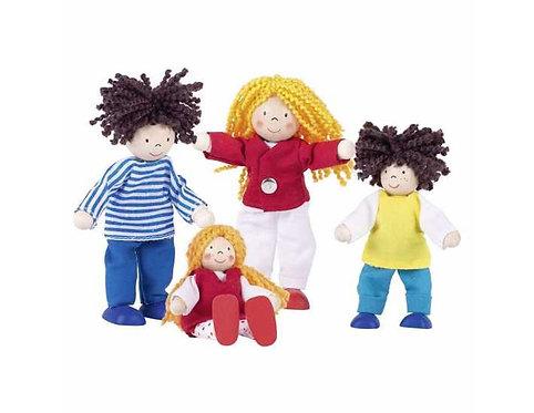 Flexible Doll Figure - Lifestyle Family