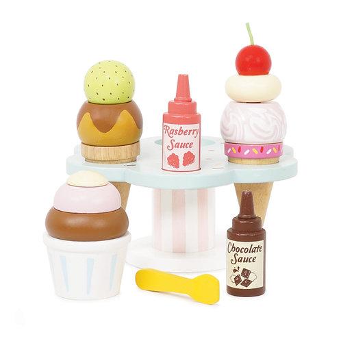 Carlo's Gelato Ice Cream Set