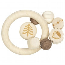 Duo Touch Ring Squirrel, Natural Wood