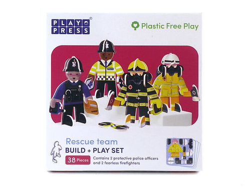 Rescue Team Character Set