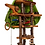 Thumbnail: Wooden Treehouse, 5 level with cloth canopy