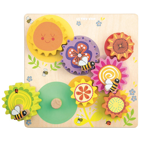 Petilou Gears & Cogs Busy Bee Set