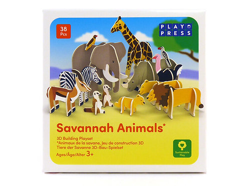 Savannah Animals Play Set
