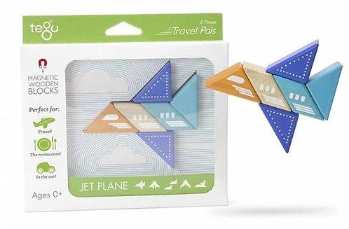 Tegu Travel Pals Jet Plane