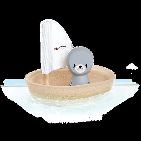 Sailing Boat Seal Bath Toy