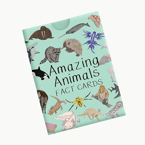 Amazing Animals Fact Cards