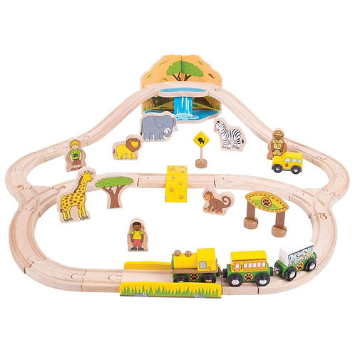 Safari Train Bundle. Set & Outpost Station