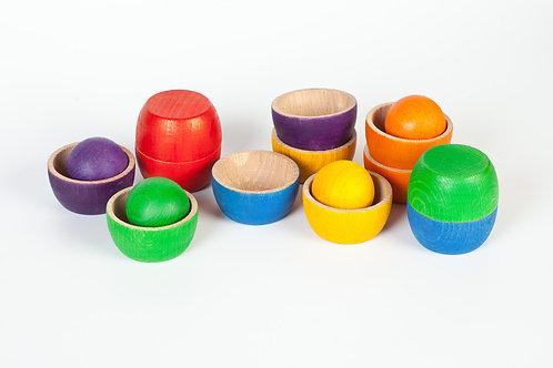 Grapat Bowls & Balls Counting & Sorting Set