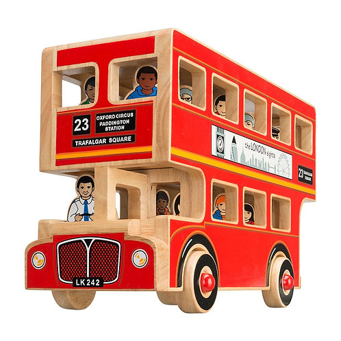 Deluxe London Bus with 16 figures
