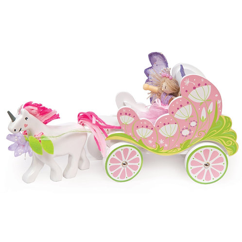 Fairy Carriage with Unicorn