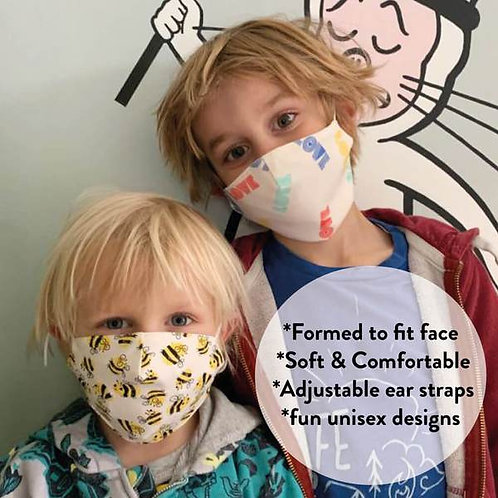 Children's Face masks Small (3-7yrs)