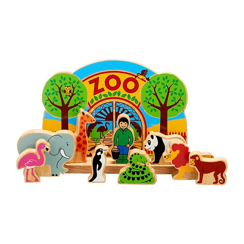 Junior Zoo Playscene with 9 characters