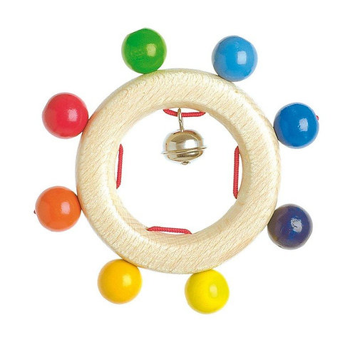 Touch Ring Rainbow Beads