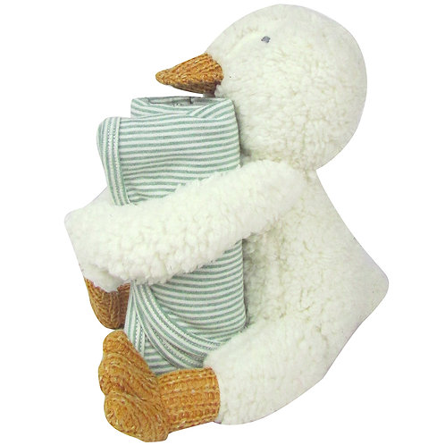 Huggy Duck with Blanket