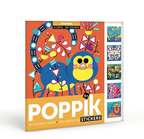 Creative Sticker Card Sets - Animals