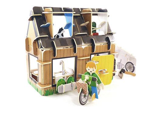 Eco House Build & Play Set