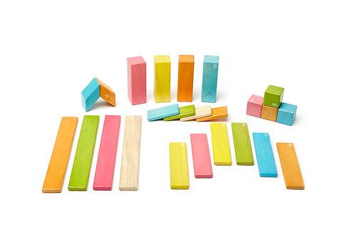 24 piece Magnetic Wooden Block Set