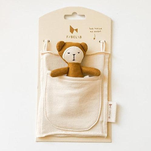 Pocket Friends Ochre Bear