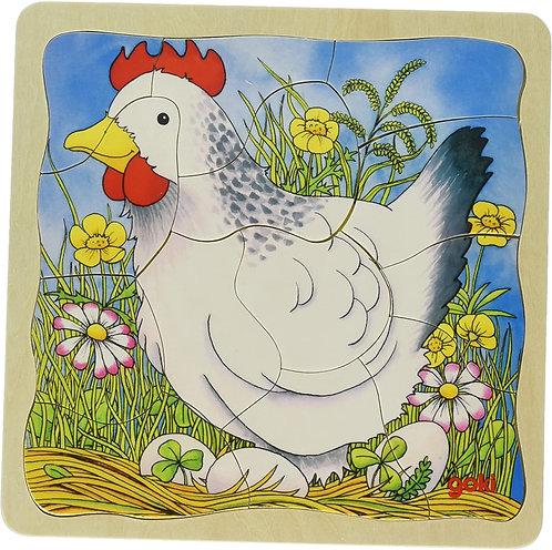 4-layer Chicken puzzle